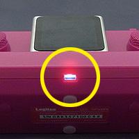 LDS-SiP500シリーズ 電源表示LEDランプ部イメージ