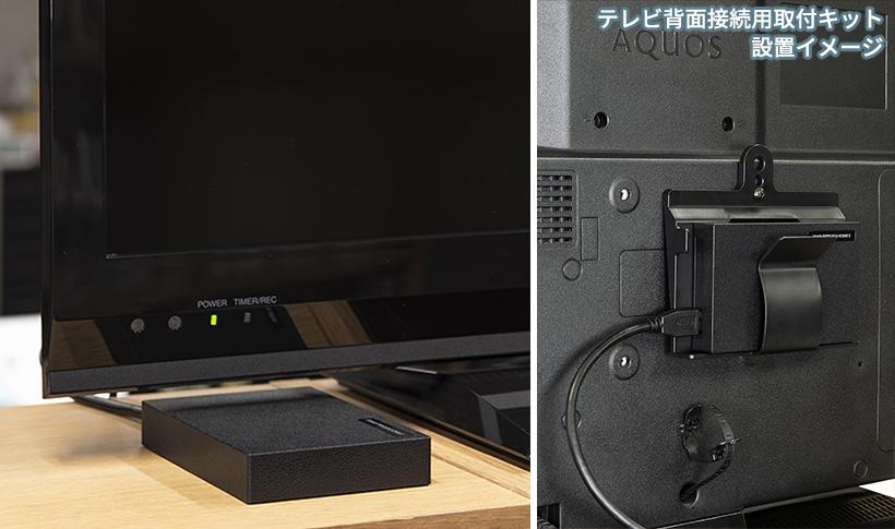 ハードディスク容量と録画可能時間の目安 ※地上デジタル放送と同程度の画質(ビットレート約17Mbps)